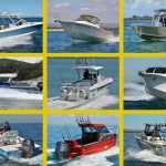 collage of pre owned boats